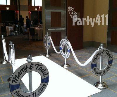 Custom Love Boat Party Entrance