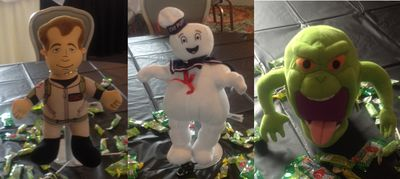Ghostbuster Party Centerpieces