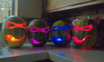 Teenagemutantninjaturtleshalloweencarvings