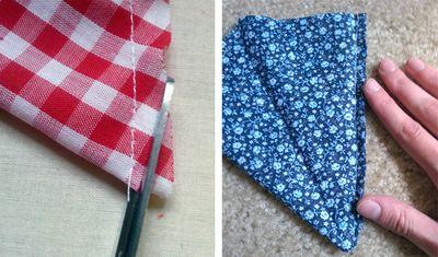 Fabric Bunting DIY