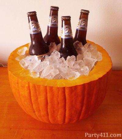Pumpkin Beer Cooler DIY