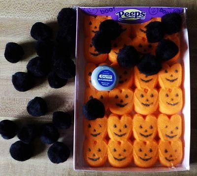 Halloween Peep Garland