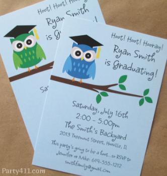 Owl invite 2