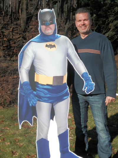 Batman Custom Photo Cutout