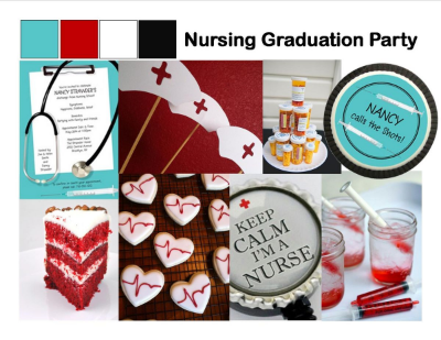 nursing graduation party ideas daily party dish
