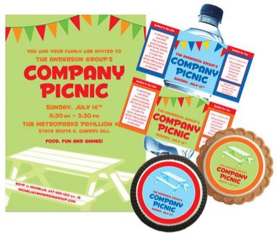 Five Summer Company Picnic Party Ideas