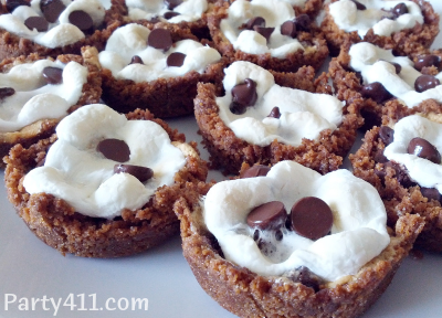 Easy Summer Party Smore Cup Desserts  Daily Party Dish
