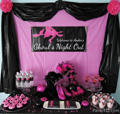 Halloween Ghoul S Night Out Bachelorette Party Ideas