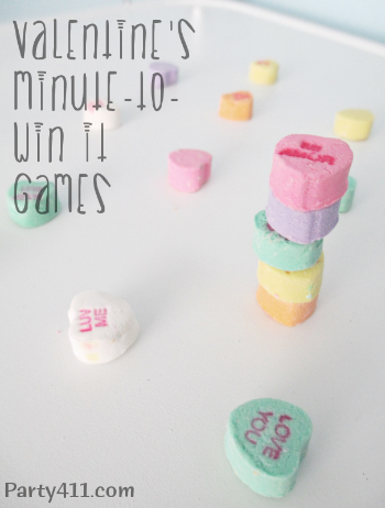 easy valentines day minute to win it party games