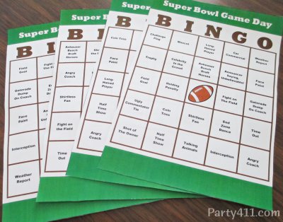 Super Bowl Pools Ideas super bowl bracket squares version best super bowl square numbers printable super For This Years Super Bowl Party I Created A Set Of Bingo Board Cards 4 Total Perfect For Keeping Guests Glued To The Game I Included Squares For