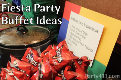 fiesta theme party buffet and menu ideas daily party dish