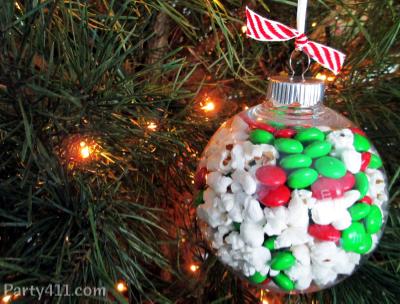 Christmas Party Chocolate Favor Ideas