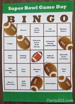 Bingo sheet 3