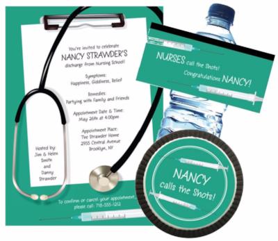 Nursing School Graduation Invitation Ideas Daily Party Dish – Nursing School Graduation Invitations