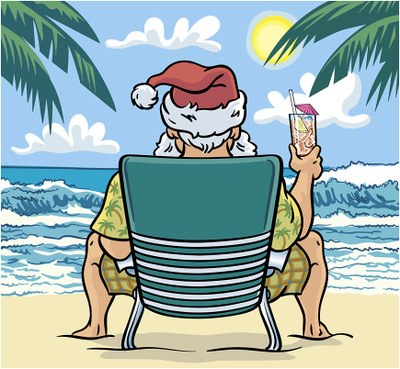 Merry Christmas In July Clipart.How About Them Apples Christmas On July Book Activity